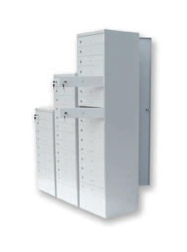 Cashier lockers